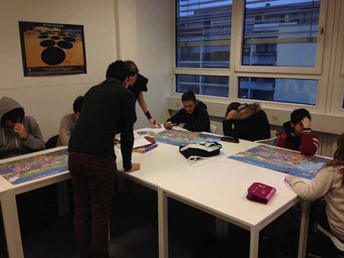 Effet de serre Ecole Atlas février 2016
