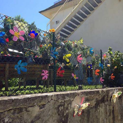 Jardins verticaux Notre Dame du Lac 2015